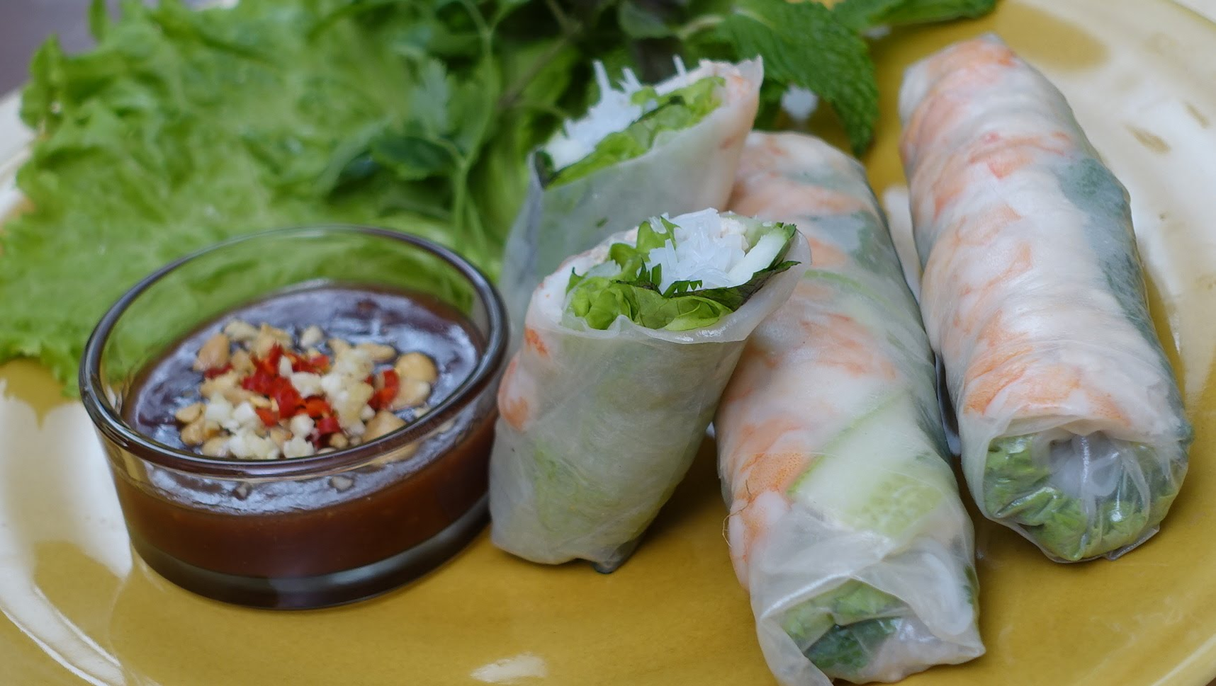 how to make chicken spring rolls by vahchef